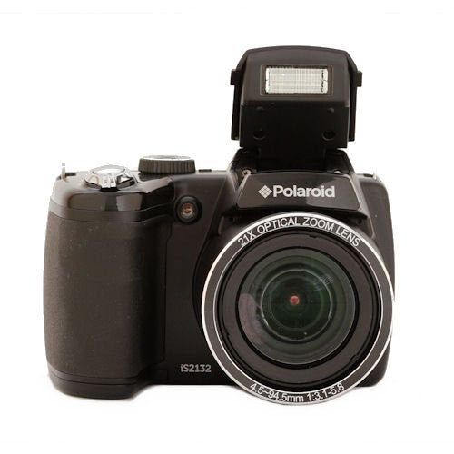 Polaroid IS2132 16MP Black Digital Camera - Thumbnail 0