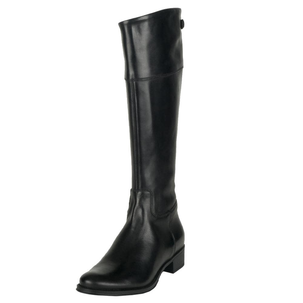 f8139bd13c38e3 Shop Tremp Women's 0366 Leather Flat Knee-high Boots - Free Shipping ...