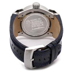 Invicta Men's Akula Blue Dial Blue Leather GMT Watch - Thumbnail 1