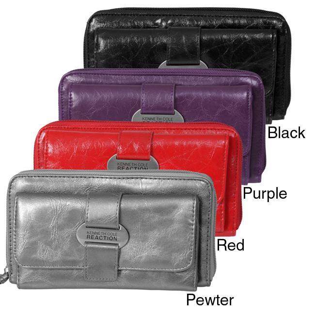 Kenneth Cole Reaction Women's Zipper Clutch Wallet