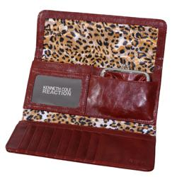 Kenneth Cole Reaction Womens Tri Me a River Clutch Wallet