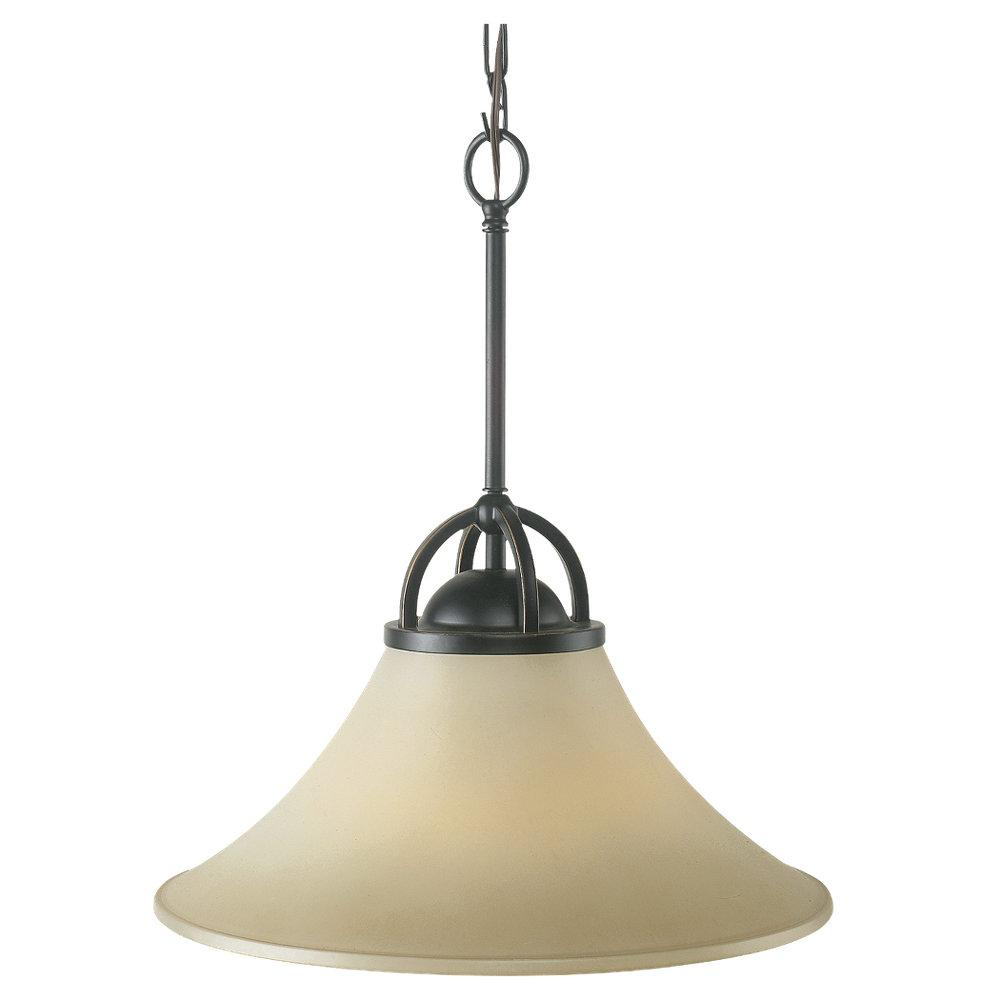 Fallsburg 1-light Heirloom Bronze Pendant Fixture