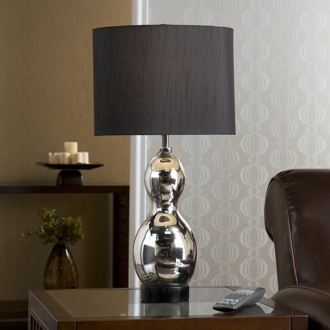 Vesper 1-light Mercury Table Lamp