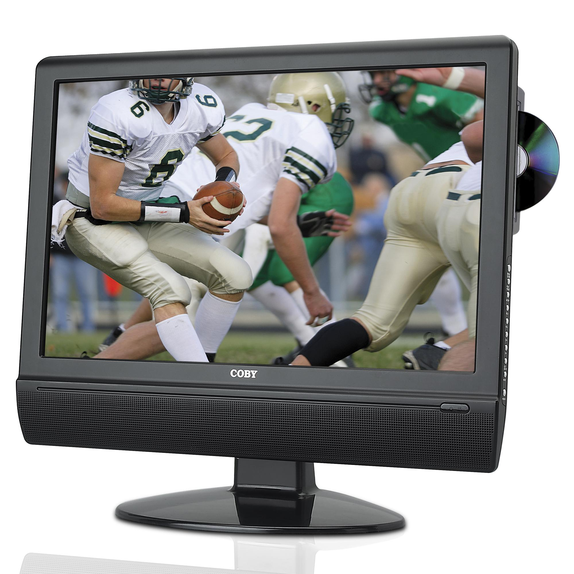 Coby 22 Inch Lcd Tv Dvd Player Combo Free Shipping Today