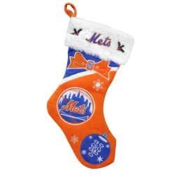 New York Mets Polyester Christmas Stocking - Thumbnail 1