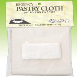 Regency Pastry Cloth and Rolling Pin Cover Set