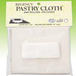 Regency Pastry Cloth and Rolling Pin Cover - Thumbnail 2