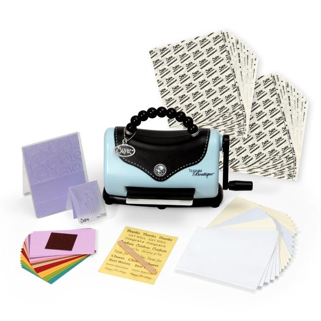 Sizzix Texture Boutique Bonus Kit