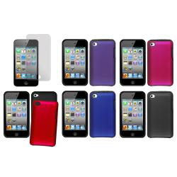 Apple iPod Touch 4th Generation Silicone and Rubberized Hybrid Case