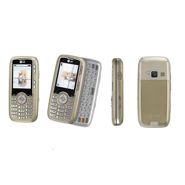 LG Scoop AX260 Champagne Alltel Cell Phone (Refurbished)