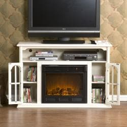 Peyton White Media Console Electric Fireplace Free Shipping Today 13187980