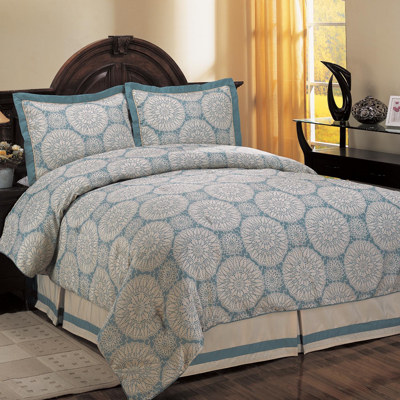 Sea Breeze Sundial Queen-size Comforter Set