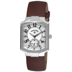 Philip Stein Women's Signature Classic Brown Strap Watch