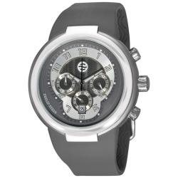 Philip Stein Men's 'Active' Grey Strap Chronograph Watch