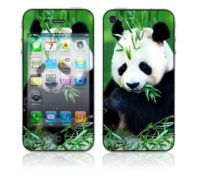 'Panda Bear' Apple iPhone 4 Skin