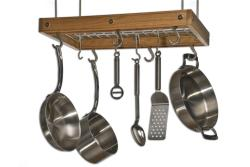 J.K. Adams Cherry Ceiling Pot Rack - Thumbnail 2