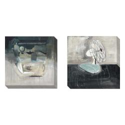 Gallery Direct David Dauncey 'Typewriter and Fan' 2-piece Art Set