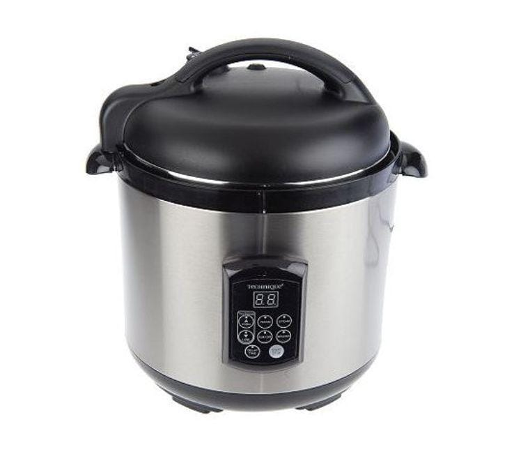 Cook's Essentials Technique Stainless Steel 6.25-qt with Removable Pot Pressure Cooker  (Refurbished)