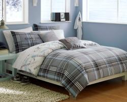 Quiksilver Payback Plaid 10-piece Queen-size Bed in a Bag with Sheet Set - Thumbnail 1