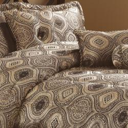 Ysela Home Fashion Paris 7-piece Comforter Set - Thumbnail 1