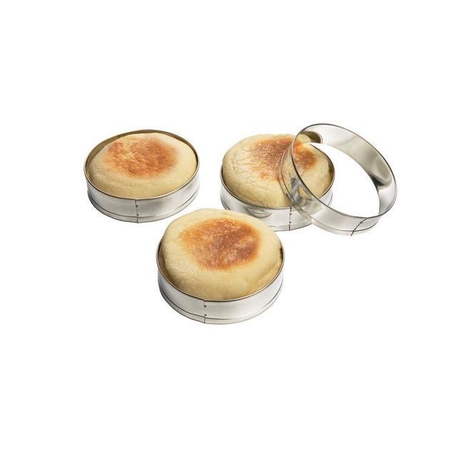English Muffin Rings (Set of 4)