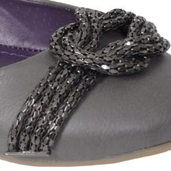 Misbehave by Adi Women's 'Ravin' Chain Ballet Flats - Thumbnail 2