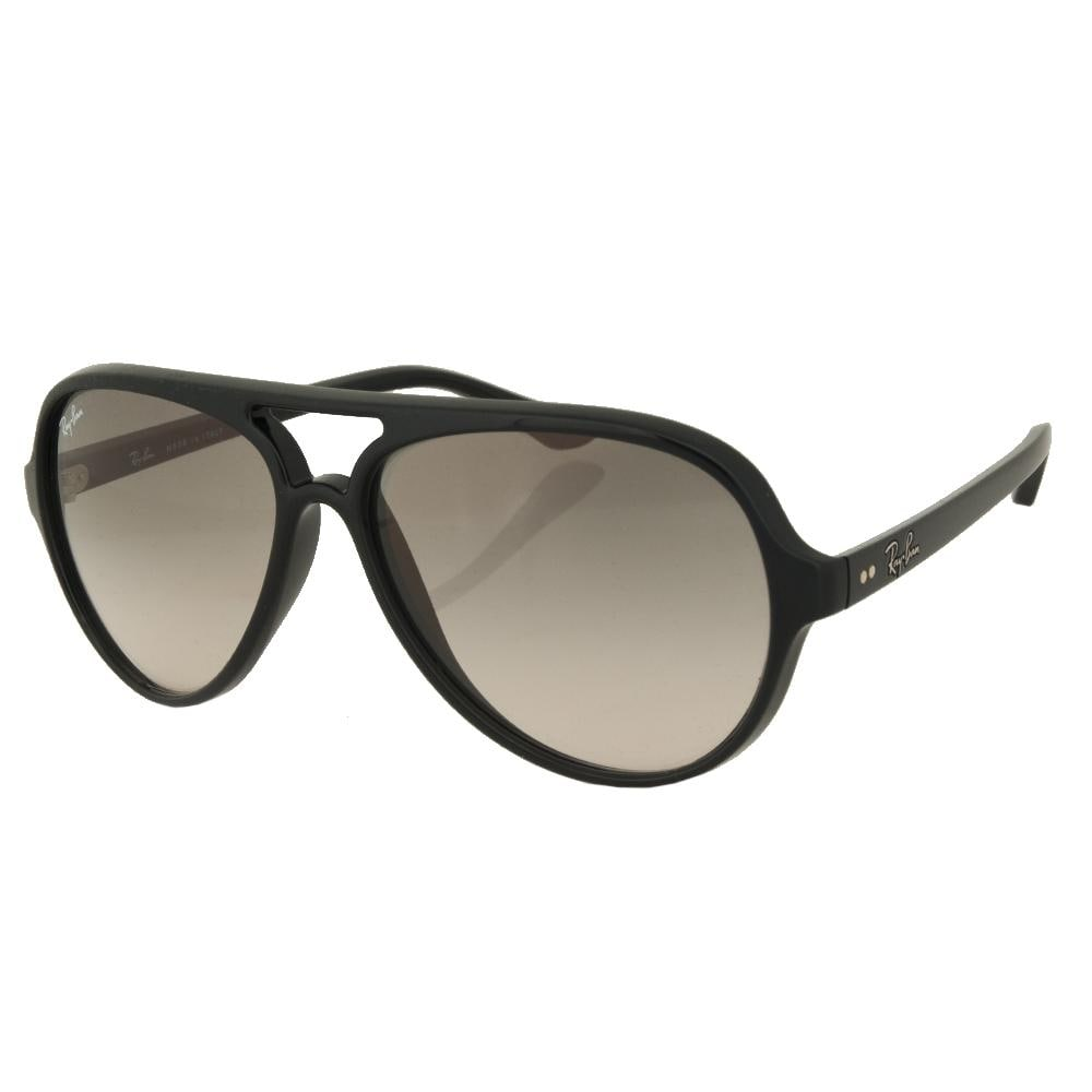 35963c7716 Shop Ray Ban Aviator RB4125 601/32 59-13 Mens Black Frame Grey Lens  Sunglasses - Free Shipping Today - Overstock - 5327979
