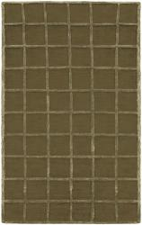 Hand-tufted Beige Wool Rug (8' x 10'6) - Thumbnail 1