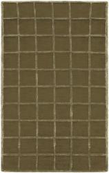Hand-tufted Beige Wool Rug (8' x 10'6) - Thumbnail 2