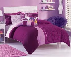 Thumbnail 2, Roxy Knock Out Twin XL-size 5-piece Duvet Cover Bedding Ensemble with Sheet Set. Changes active main hero.