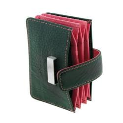 Wilouby Rosy Leather Credit Card Holder - Thumbnail 1