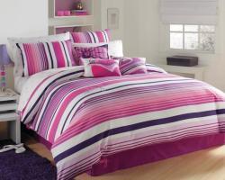 Roxy Sun Kissed Stripe Full/ Queen-size 3-piece Duvet Cover Set - Thumbnail 2