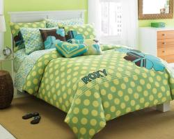 Roxy Vivid Twin-size Duvet Cover Set - Thumbnail 1