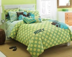 Roxy Vivid Twin-size Duvet Cover Set - Thumbnail 2