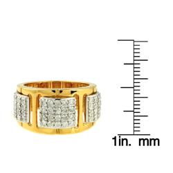 Beverly Hills Charm 14k Two-tone Gold Women's 3/4ct TDW Diamond Ring