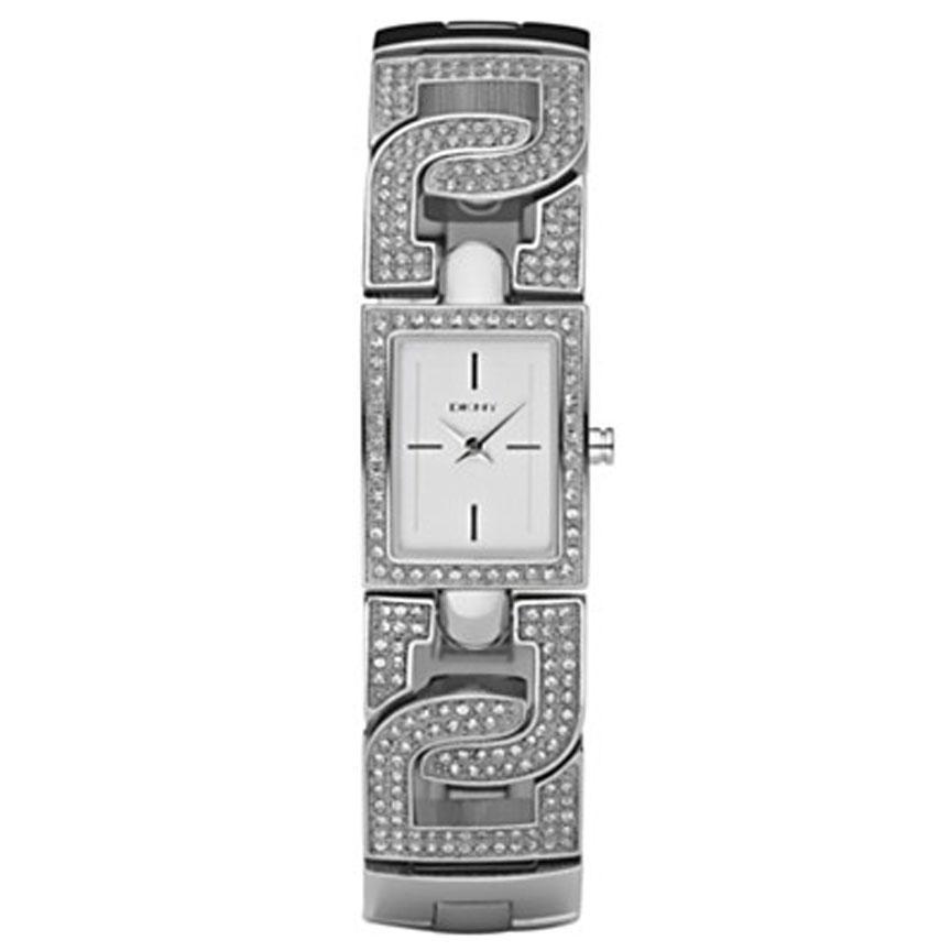 DKNY Women's Crystal Accent Bracelet Watch
