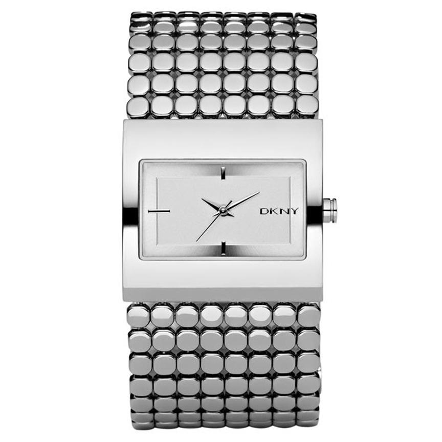 DKNY Women's NY4967 Silvertone Stainless Steel Watch