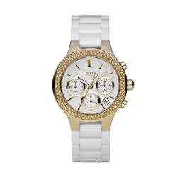 DKNY Women's White Ceramic Bracelet Watch
