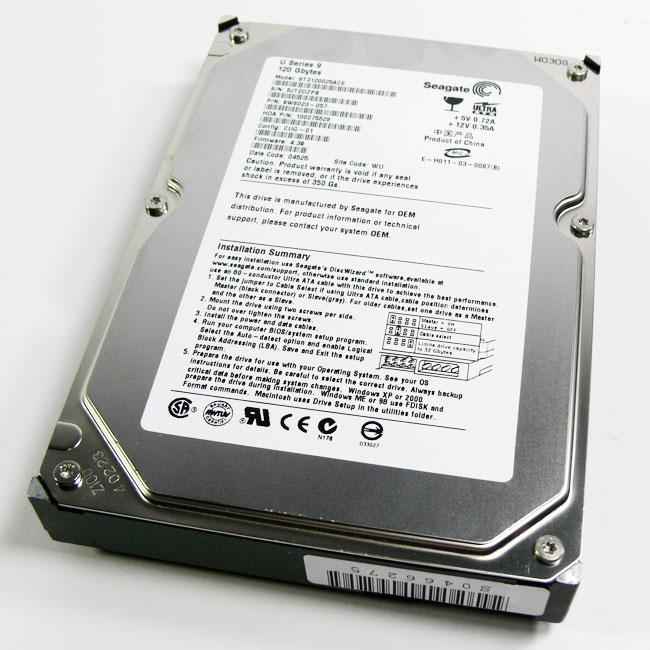 Seagate ST3120025ACE 120GB 3.5-inch Hard Drive (Refurbished)