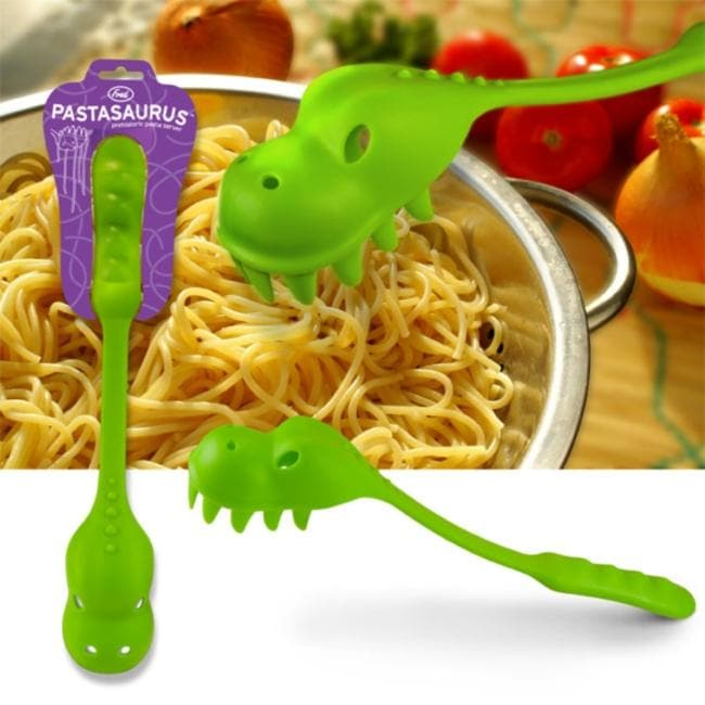 Pastasaurus Green Pasta Server - Thumbnail 0