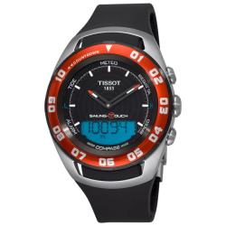 Tissot Men's 'Sailing-Touch' Black Face Multifunction Watch