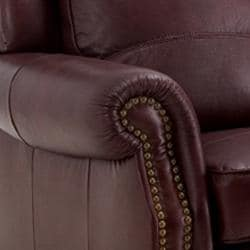 Merveilleux ... Thumbnail Westport Burgundy Italian Leather Sofa And Loveseat