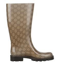Gucci Women\'s Logo Rain Boots - Free Shipping Today - Overstock ...