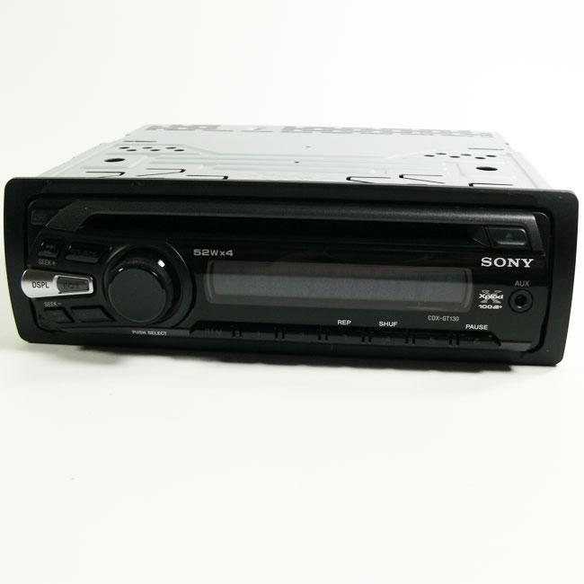 Sony Cdx-gt130 Cd Car Stereo  Refurbished