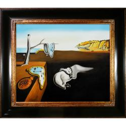 Dali 'Persistence of Memory' Hand-painted Framed Art Print