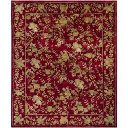 Hand-knotted Mandara New Zealand Wool Rug (8' x 10') - Thumbnail 1