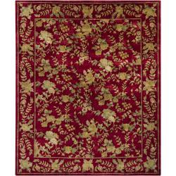 Hand-knotted Mandara New Zealand Wool Rug (8' x 10') - Thumbnail 2