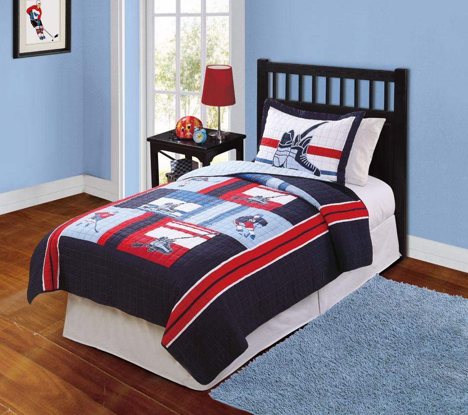 Hockey Bedding Queen