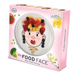 Fred & Friends Food Face Ceramic Lady Plate - Thumbnail 1
