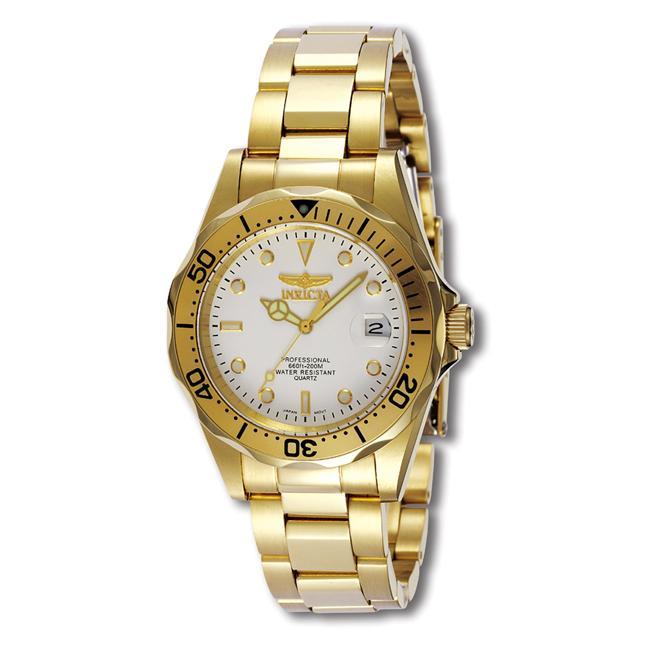 Invicta Men's Pro Diver 23k Goldplated Watch